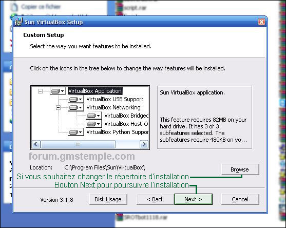 Virtual box installation guide