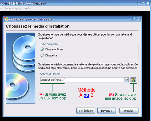 installer windows a partir d'un CD